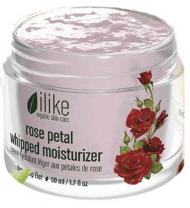 ilike organic skin care rose petal